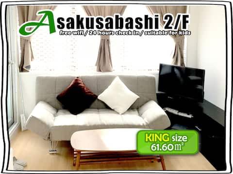 【2/F】Asakusabashi Building   for 6-9 ppl