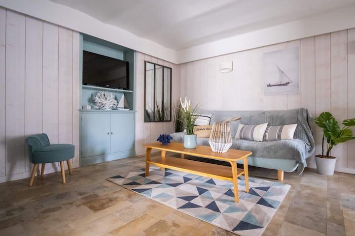 Appartement en bord de mer à Cabourg