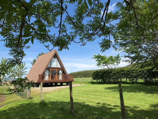 Farm Chalet in Scenic Countryside, Keith