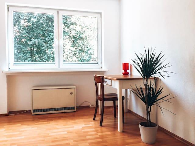 Schönes Zimmer, Essen-Werden, Nähe Folkwang