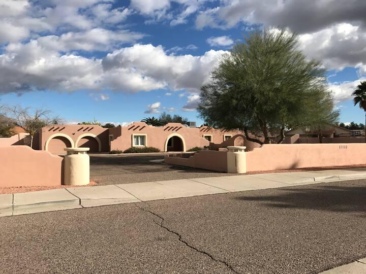 Large remodeled Santa Fe home