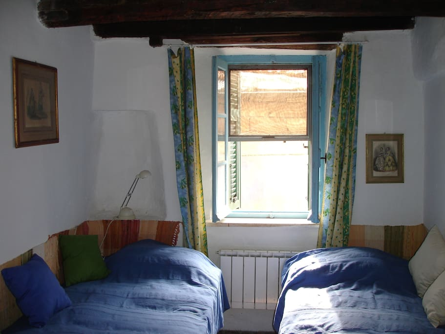 Camera letti singoli piano inferiore