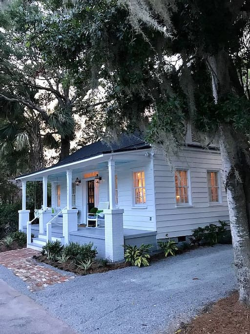 Low Country Evening at the King Street Cottage