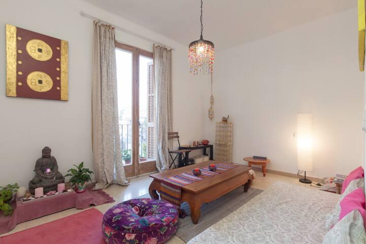 Habitacion doble  en mayo y junio - Barcelona - Apartment