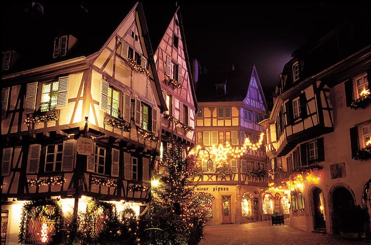 B&B 3-  Entre Vosges & Alsace Ski Marchés de Noël