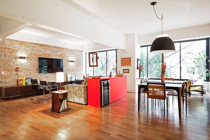 Stunning and spacious loft in Higienopolis