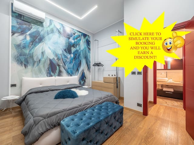 Amazing flat, car parking included, garden