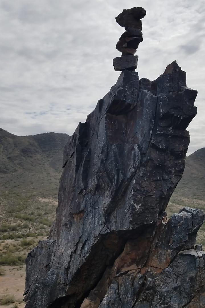 Balancing act PHX Mt Preserve