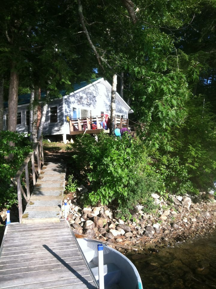 Beautiful Downeast Maine Lake House