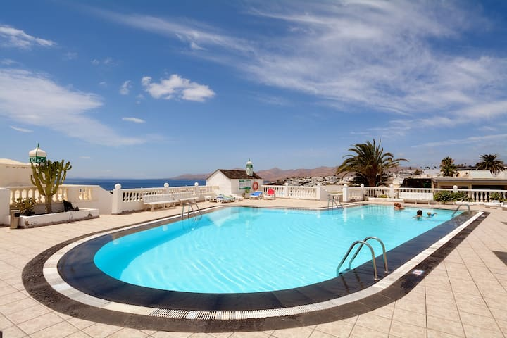 Solei Sea Views Share Pool Puerto del Carmen wifi