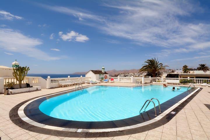 Solei Sea Views Share Pool Puerto del Carmen wifi