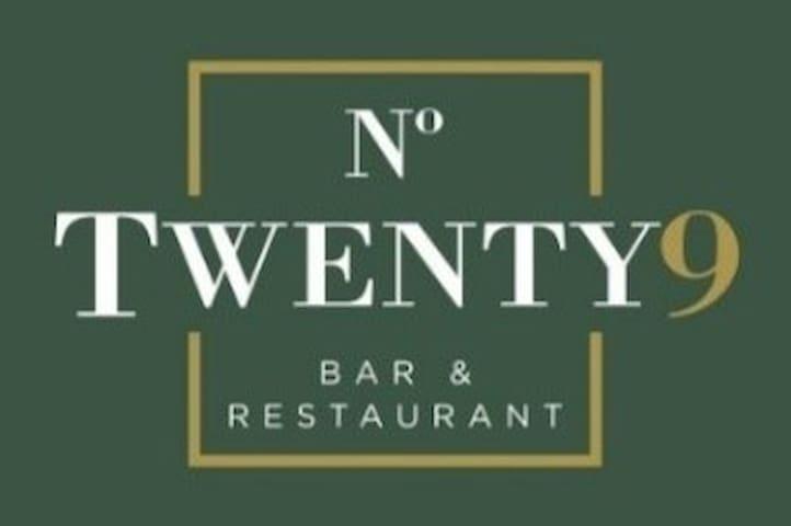 No.Twenty9 Bar & Restaurant