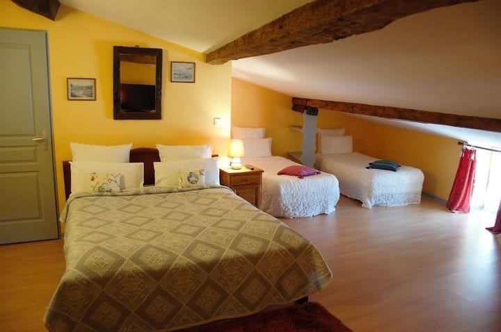 Chambre privée La Salle - Maison Schuler B&B