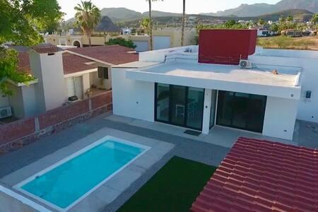 Casa de relax y convivencia familiar en San Carlos