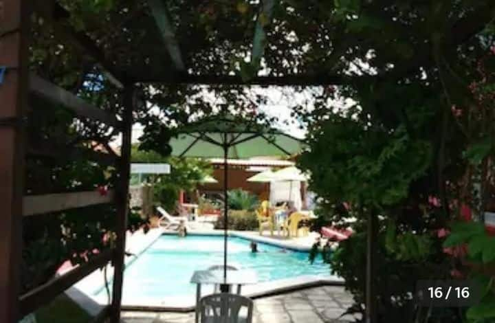 Flat com piscina em Maracaípe