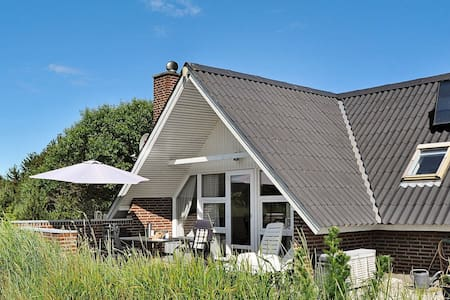Spacious Holiday Home in Søndervig with Roofed Terrace