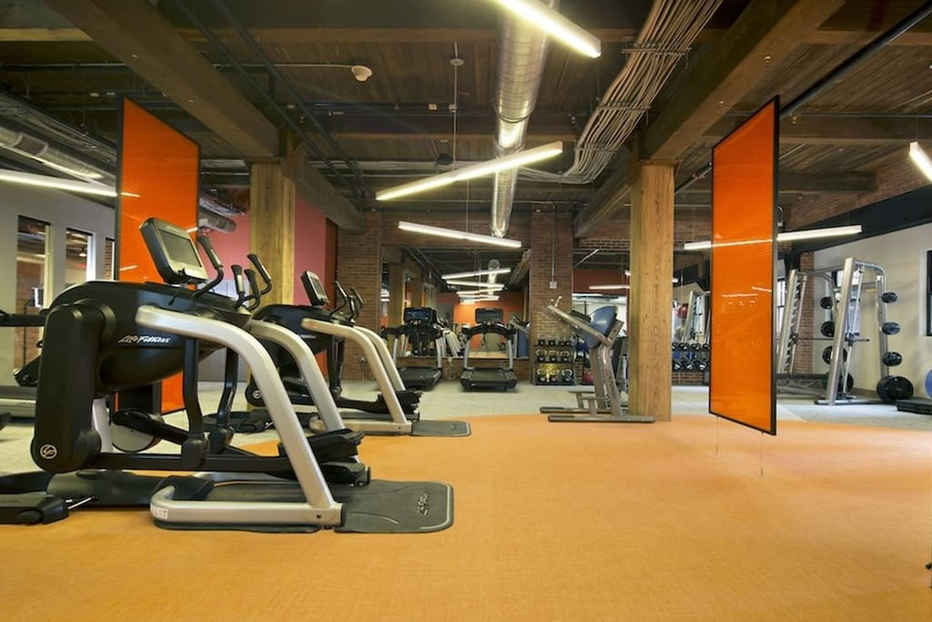 Amazing gym facility located on-site and free-of-charge when you stay here!
