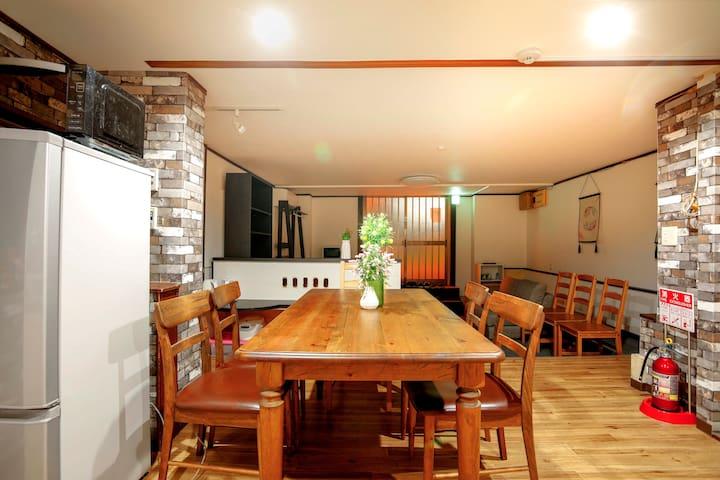 难波心斋桥附近的独立房间203室
