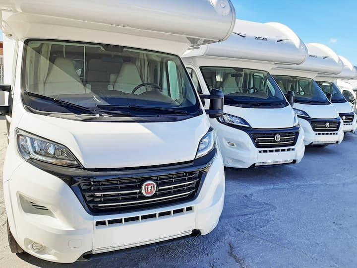 Alquiler de autocaravanas NUEVAS