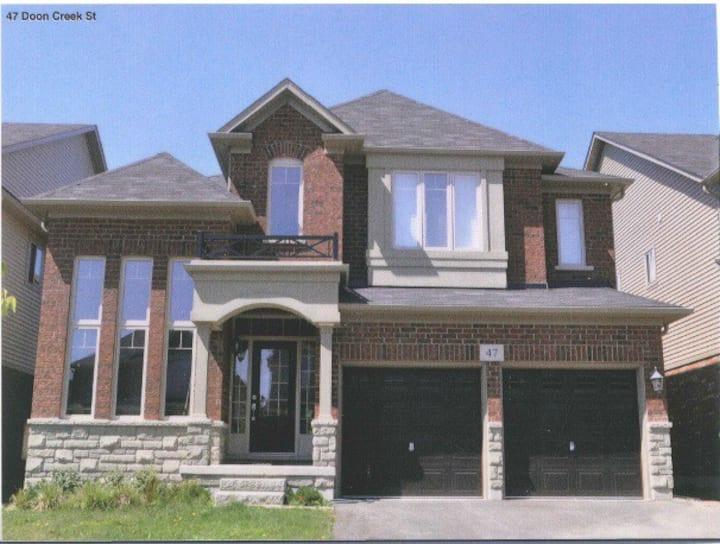 Beautiful house in upscale neighborhood