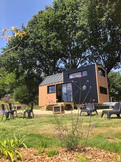Tiny house en Finistere sud, micromaison