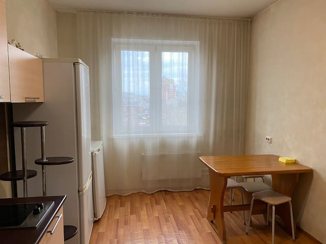 Двухкомнатная квартира в центре Красноярска