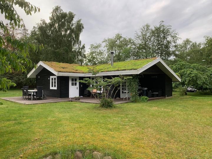 Nyrenoveret sommerhus i naturskønne omgivelser