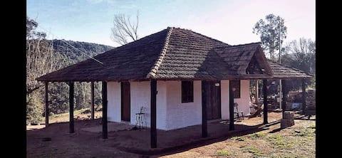 Casa no campo na paz e tranquilidade