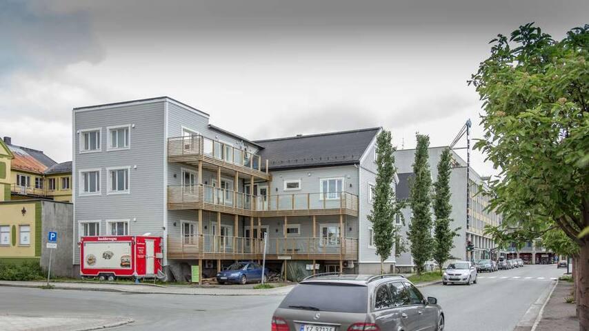 4 roms leilighet med beliggenhet i sentrum