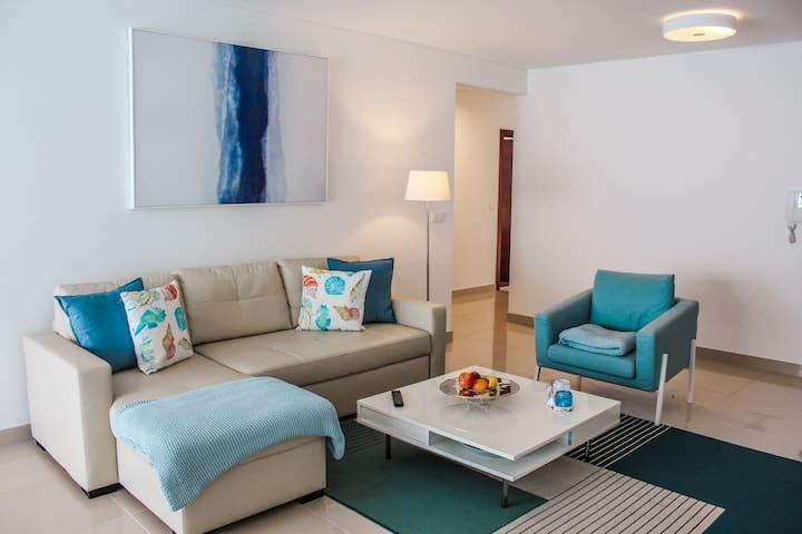 Deep Blue Apartment
