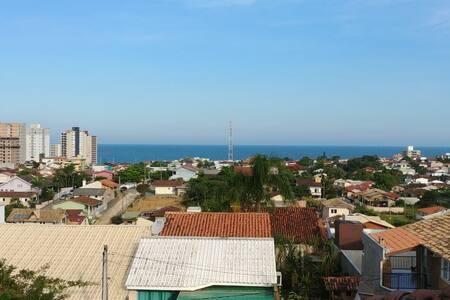 Quarto Casal - 1km praia - Centro Barra Velha