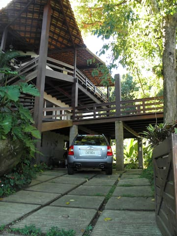 Charming Eco Beach House on Rio's Emerald Coast - Mangaratiba - House