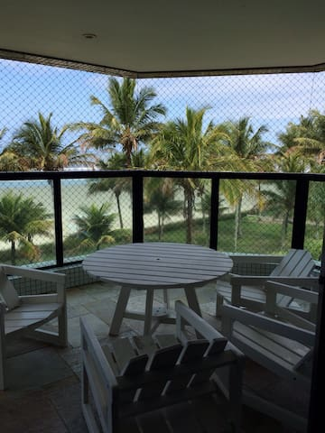 Apartamento pé na areia em Riviera São Lourenço - Bertioga - Leilighet