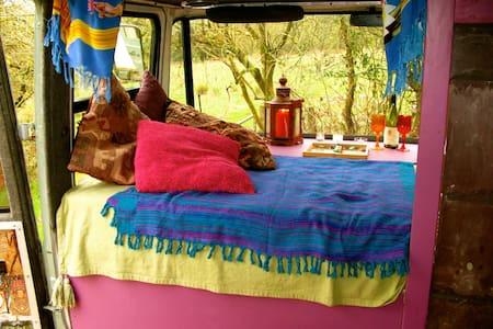 The Hippy Van - Coed-y-bryn