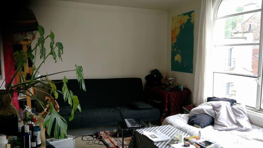 Appartement lumineux à Jourdain - Paris - Apartemen