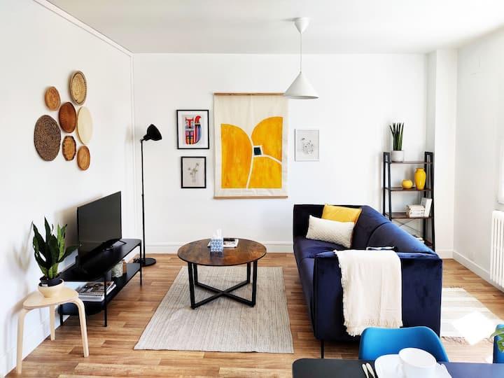 Appartement, 1 chambre, très lumineux