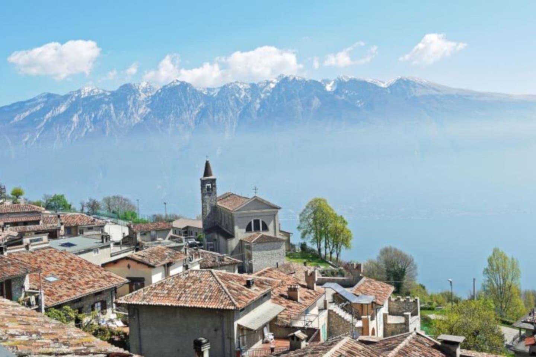 Schöne Ferienwohnung am Gardasee mieten - CASTELLO in Tignale