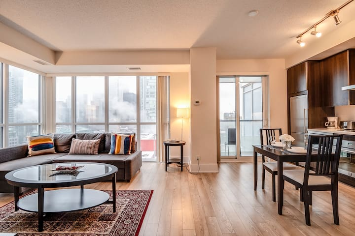 Galaxy Suites Stylish Downtown Apartment