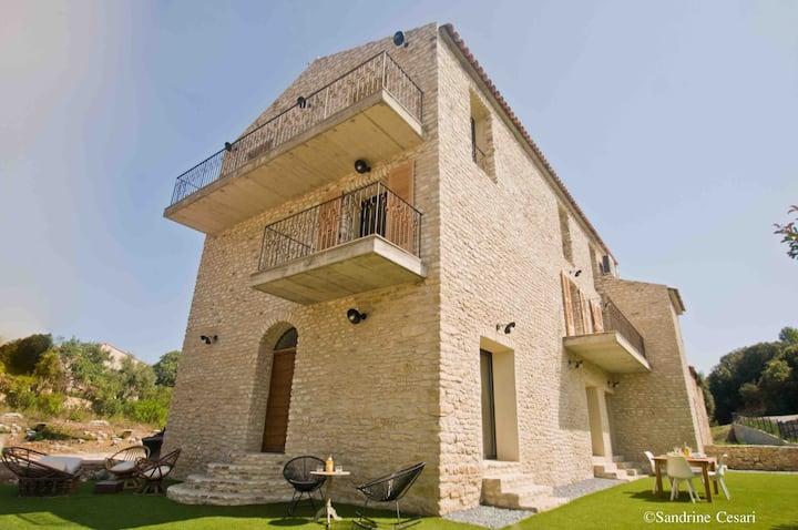 Casa di Neshama GHJISEPPU city center St-Florent