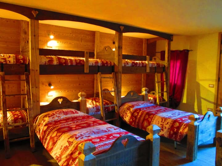 """Chalet CuoreSelvatico- """"Open Space Deluxe"""""""