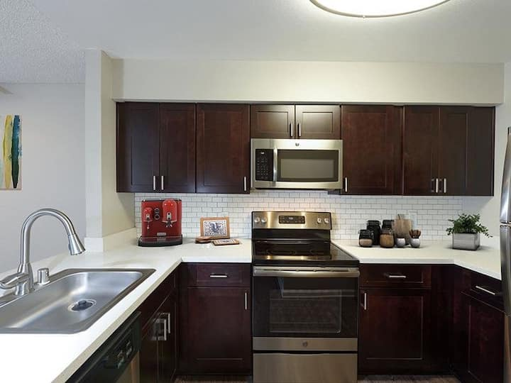 Close to All Beaches! | Spacious 2BR/1.5BA Suite