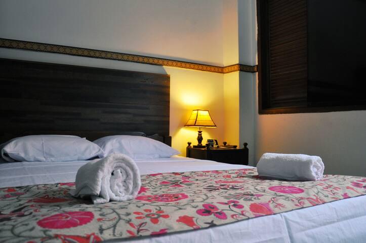 Hospedaje Florentina - Doble 2 camas.
