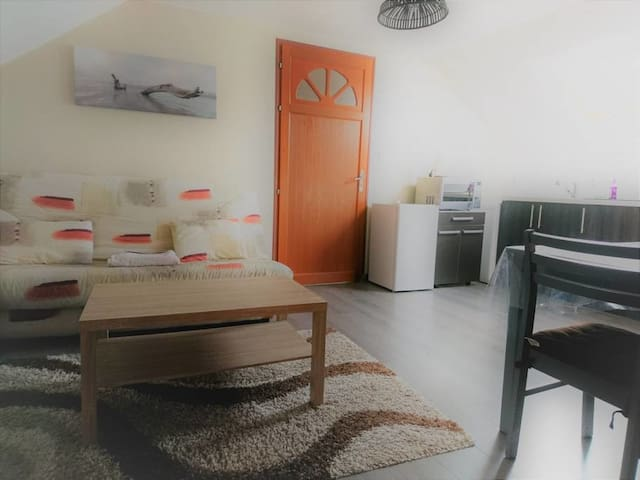 Appartement Vanille, beau meublée bord de mer