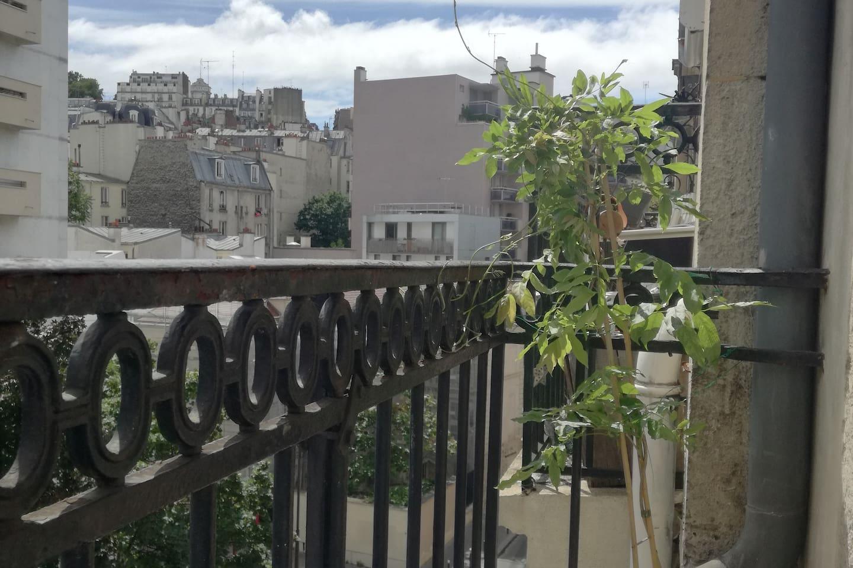 Balcony Montmartre view