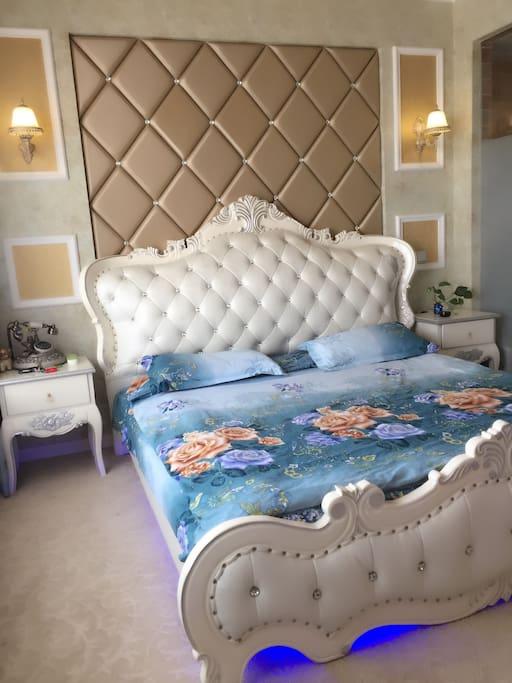 大气真皮床➕软卧床垫,让你进入舒适的睡眠