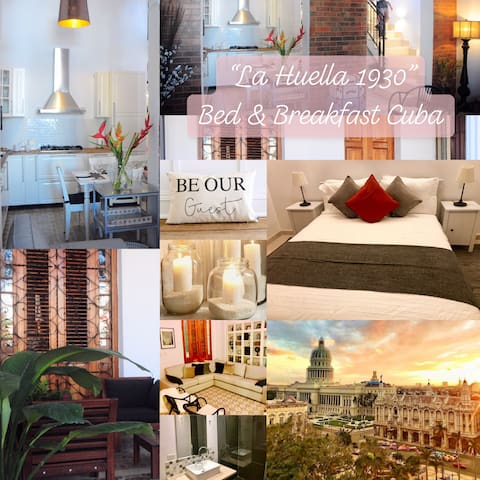 La Huella 1930 Bed & Breakfast 1 room x 2 people
