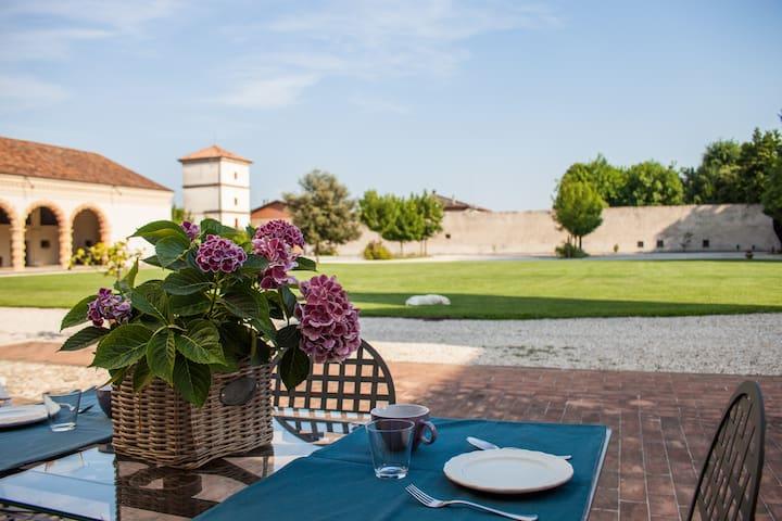 Alloggio villa Sangiantofetti-Rigon - Ponte di Barbarano - Apartament