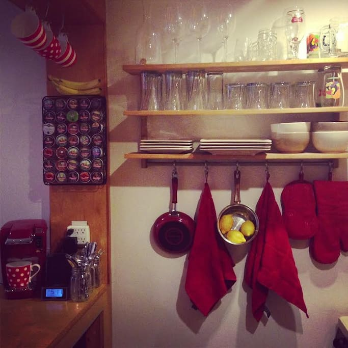 Cute kitchen area