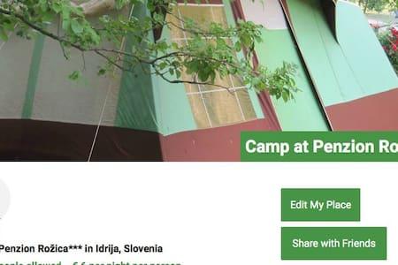 Place for camper/RV Apartma Rožica - Idrija