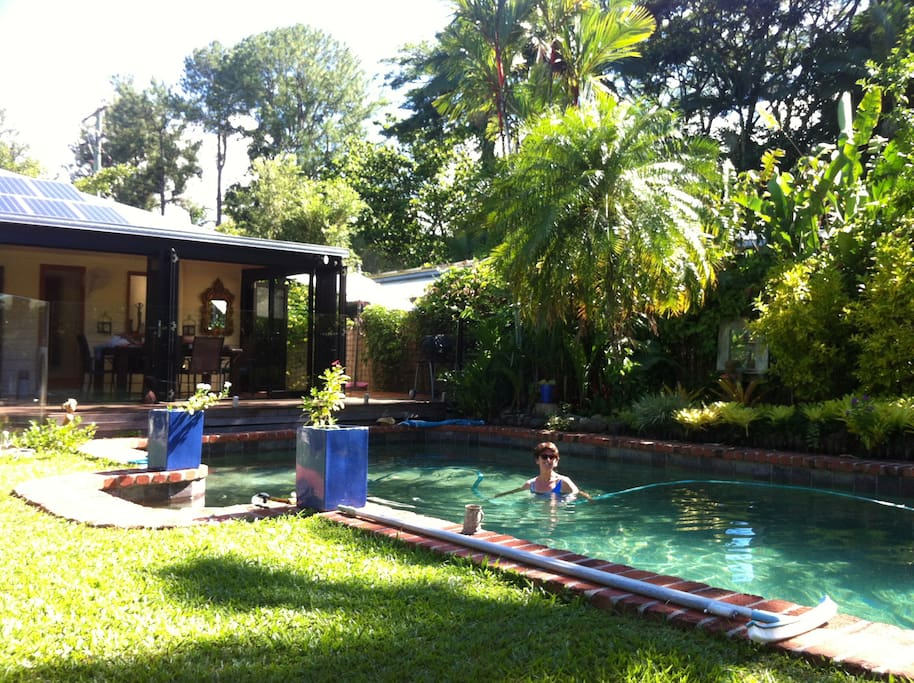 Cool off in our chemical free pool